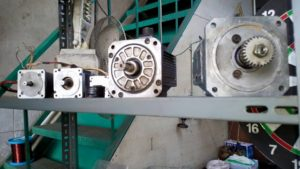Lafert servo motorun arızası